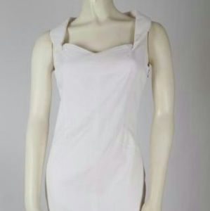 D&G White Sleeveless Dress